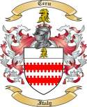 Ceru Family Coat of Arms from Italy