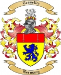Cesseller Family Coat of Arms from Germany