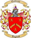 Cestersir Family Crest from England
