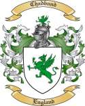 Chadband Family Crest from England
