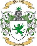 Chadborn Family Crest from England