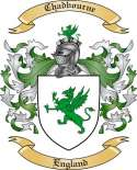 Chadbourne Family Crest from England