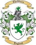 Chadburn Family Crest from England