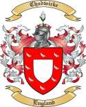 Chadwicke Family Crest from England