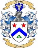 Chaire Family Crest from France