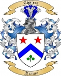 Chaires Family Crest from France