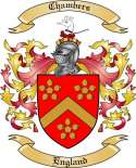 Chambers Family Crest from England