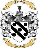 Chandler Family Crest from England