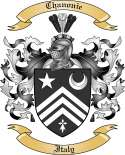 Chanonie Family Crest from Italy