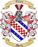 Chapa Family Crest from Spain