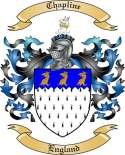 Chapline Family Crest from England
