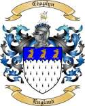 Chaplyn Family Crest from England