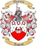 Chapman Family Crest from England