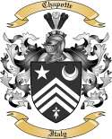Chapotte Family Crest from Italy