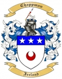 Chappman Family Crest from Ireland