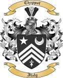 Chappot Family Crest from Italy