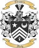 Chappoz Family Crest from Italy