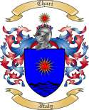 Chari Family Crest from Italy
