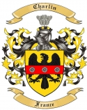 Charlin Family Crest from France