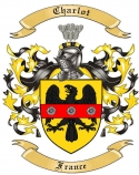 Charlot Family Crest from France