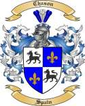 Chason Family Crest from Spain