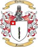 Chateau Family Crest from France
