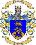 Chatterley Family Crest from England