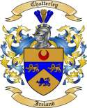Chatterley Family Crest from Ireland