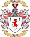 Chavarria Family Crest from Spain