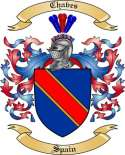 Chaves Family Crest from Spain