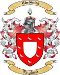 Chedwick Family Crest from England