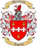 Cheesebrow Family Crest from England