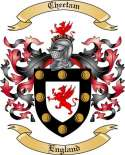 Cheetam Family Crest from England2