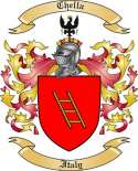 Chella Family Crest from Italy