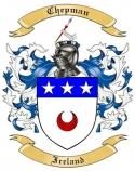 Chepman Family Crest from Ireland