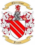 Chercoeur Family Crest from France