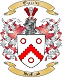 Cherries Family Crest from Scotland