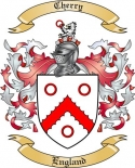 Cherry Family Crest from England