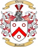 Cherry Family Crest from Scotland