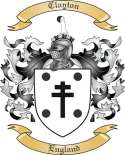 Clayton Family Coat of Arms from England
