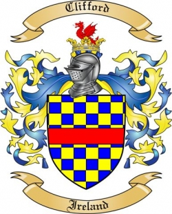 Clifford Family Coat of Arms from Ireland