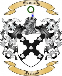 Connelly Family Coat of Arms from Ireland