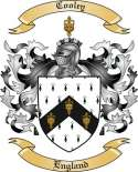 Cooley Family Coat of Arms from England