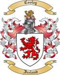 Cooley Family Coat of Arms from Ireland