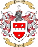 Crawford Family Coat of Arms from England