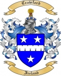 Crawford Family Coat of Arms from Ireland