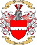 Crawford Family Coat of Arms from Scotland