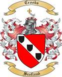 Crooks Family Coat of Arms from Scotland