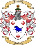 Crowley Family Coat of Arms from Ireland