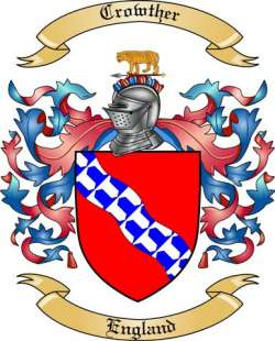Crowther Family Coat of Arms from England